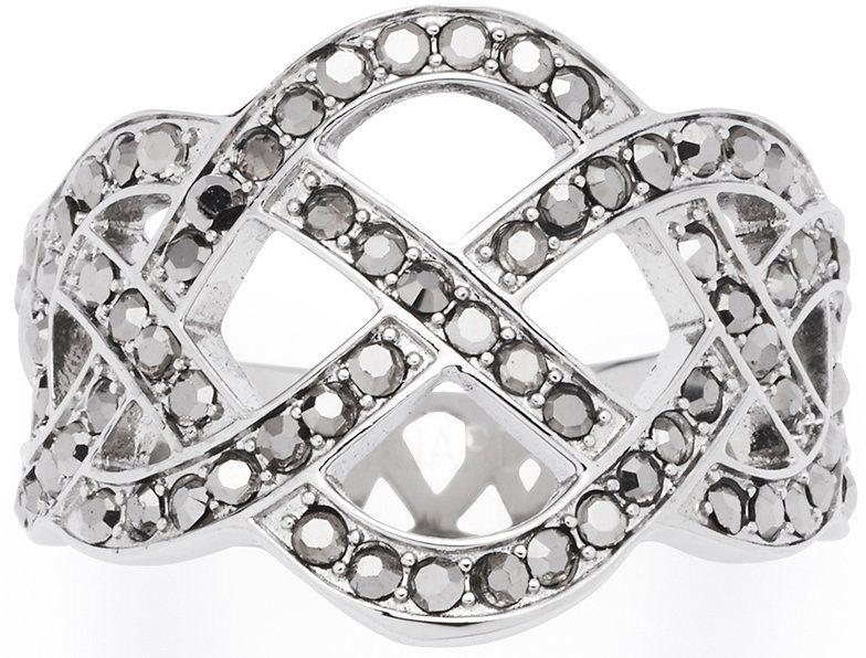 Jewels by Leonardo Ring mit Hämatit, »gordiano, 015870, 015871, 015872« in silberfarben
