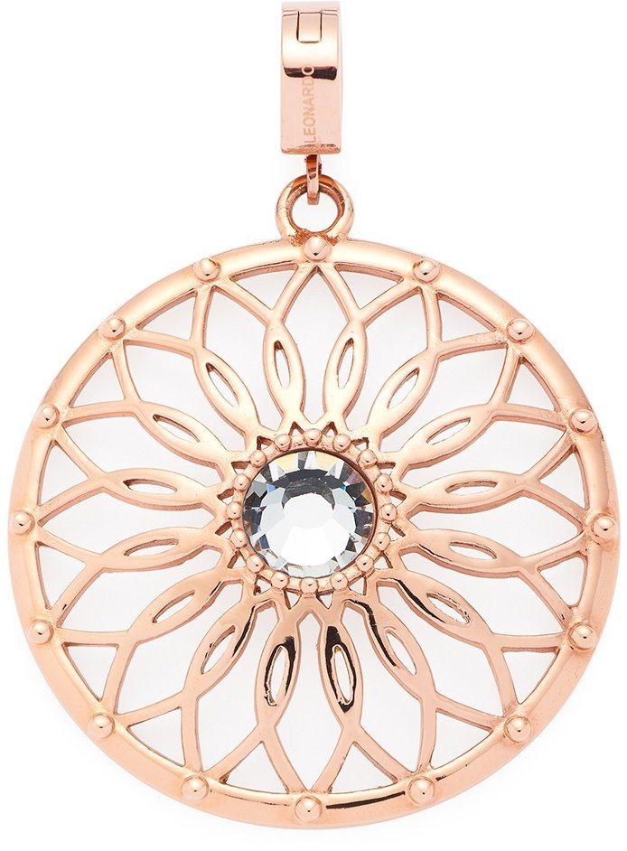 Jewels by Leonardo Charm-Einhänger mit Glasstein, »darlin's gaio roségold, 016005« in roségoldfarben