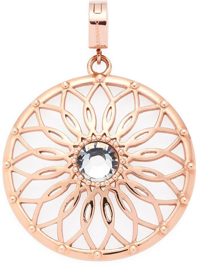 Jewels by Leonardo Charm-Einhänger mit Glasstein, »darlin's gaio roségold, 016005«