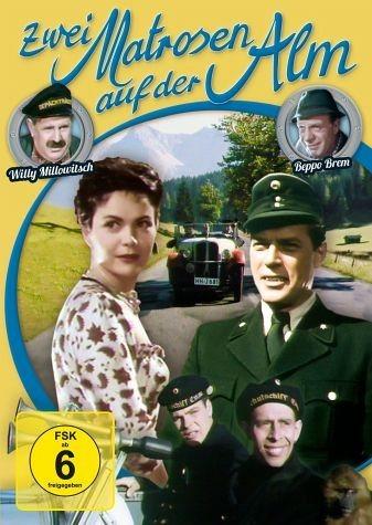 DVD »Zwei Matrosen auf der Alm«