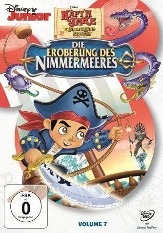 DVD »Käpt'n Jake und die Nimmerland Piraten Volume...«