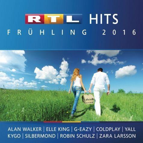 Audio CD »Various: Rtl Hits Frühling 2016«