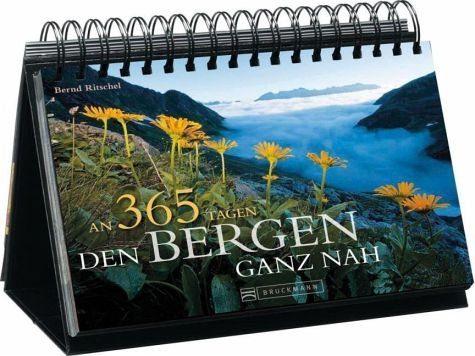 Kalender »Den Bergen ganz nah Tischaufsteller«