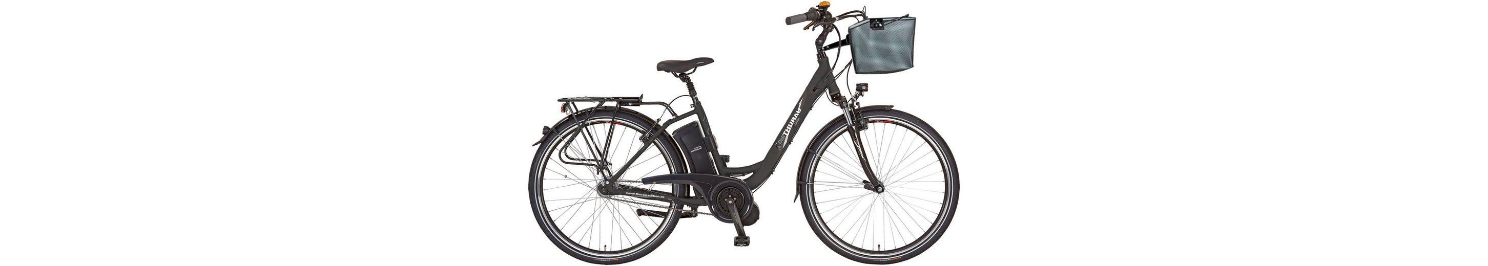 Didi Thurau Edition E-Bike, 28 Zoll, Mittelmotor, 7 Gang Shimano Nabenschaltung, »Alu-City Comfort«