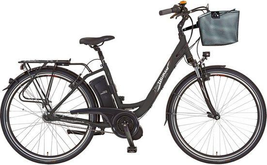 Didi THURAU Edition E-Bike »Alu-City Comfort«, 7 Gang Shimano, Nabenschaltung, Mittelmotor 250 W