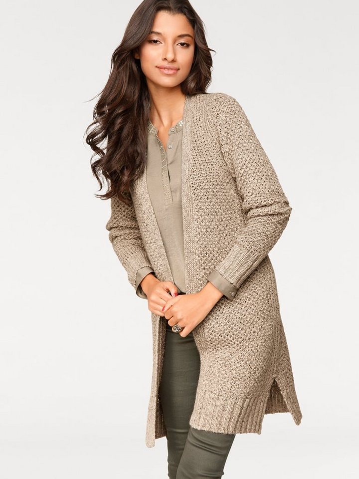 Cardigan in beige