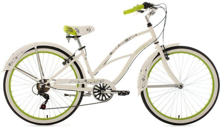 KS Cycling Cruiser »Bellefleur«, 6 Gang Shimano Tourney RD-TZ50 Schaltwerk, Kettenschaltung