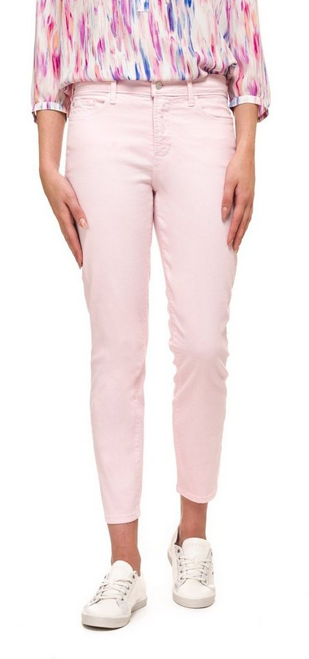 NYDJ Marilyn Straight Leg Jeans in Barely Pink