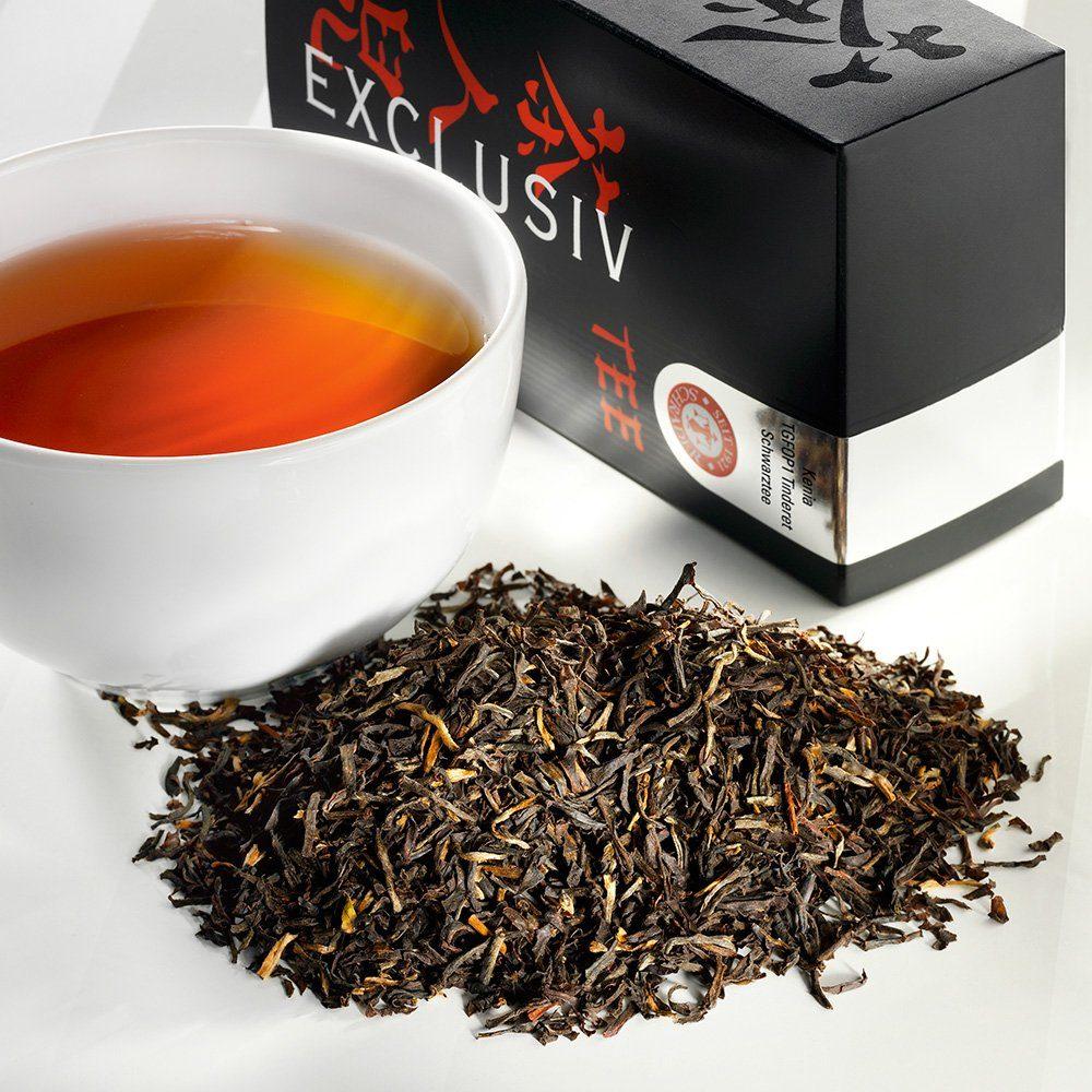 Schrader Schwarzer Tee Kenia TGFOP1 Tinderet