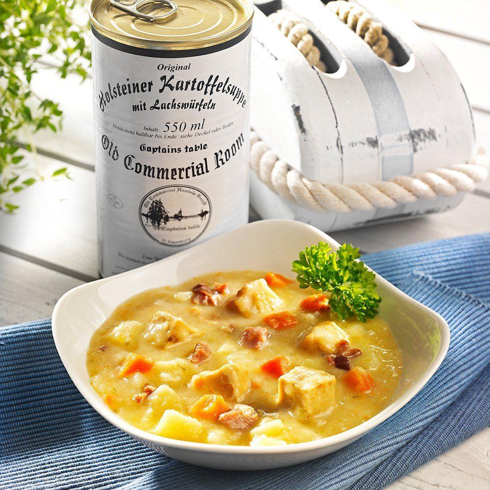 Old Commercial Holsteiner Kartoffelsuppe mit Lachswürfeln 550 ml
