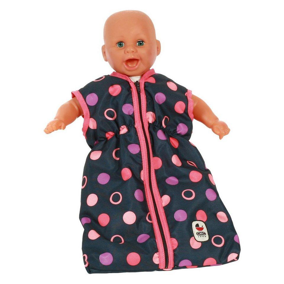 CHIC 2000 Puppen-Schlafsack, Corallo
