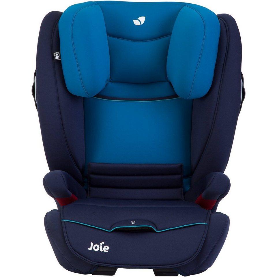 Joie Auto-Kindersitz Duallo, Caribbean in blau-kombi