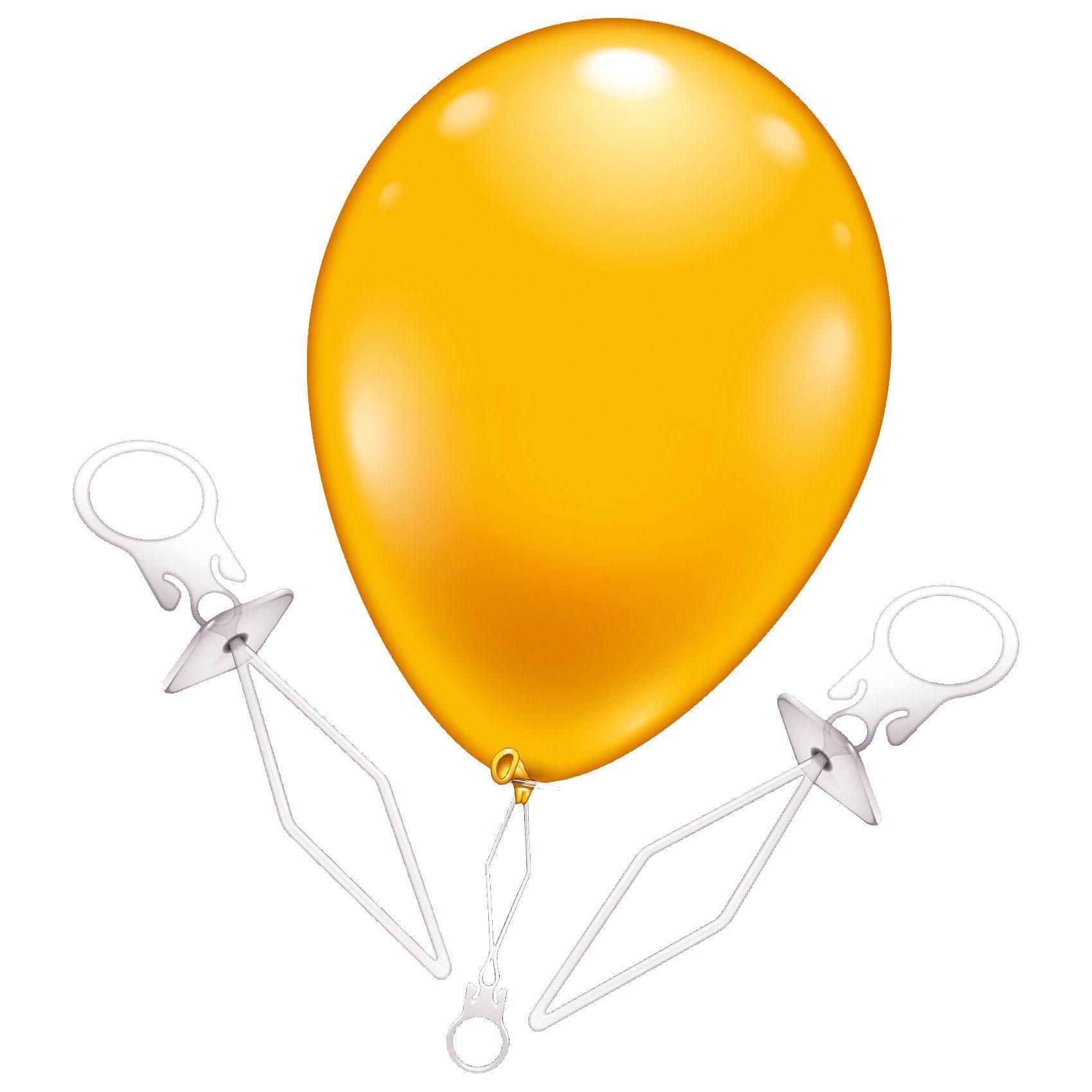 Karaloon Ballonverschlüsse, 10 Stück
