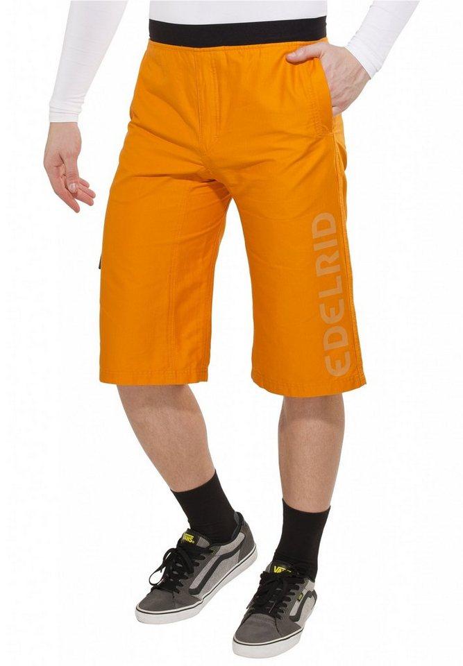 Edelrid Hose »Fry Shorts Men« in orange