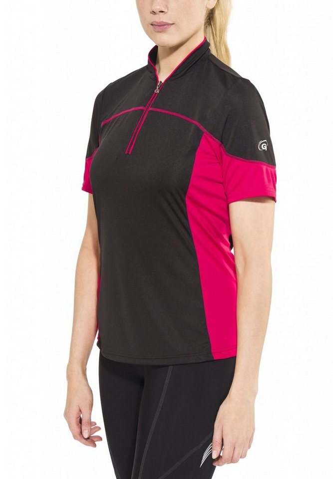 Gonso Radtrikot »Jave Bike Shirt Damen« in schwarz
