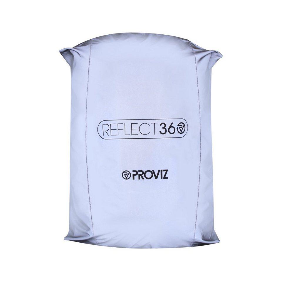 ProViz Sport- und Freizeittasche »Reflect 360 Rucksackcover« in weiß