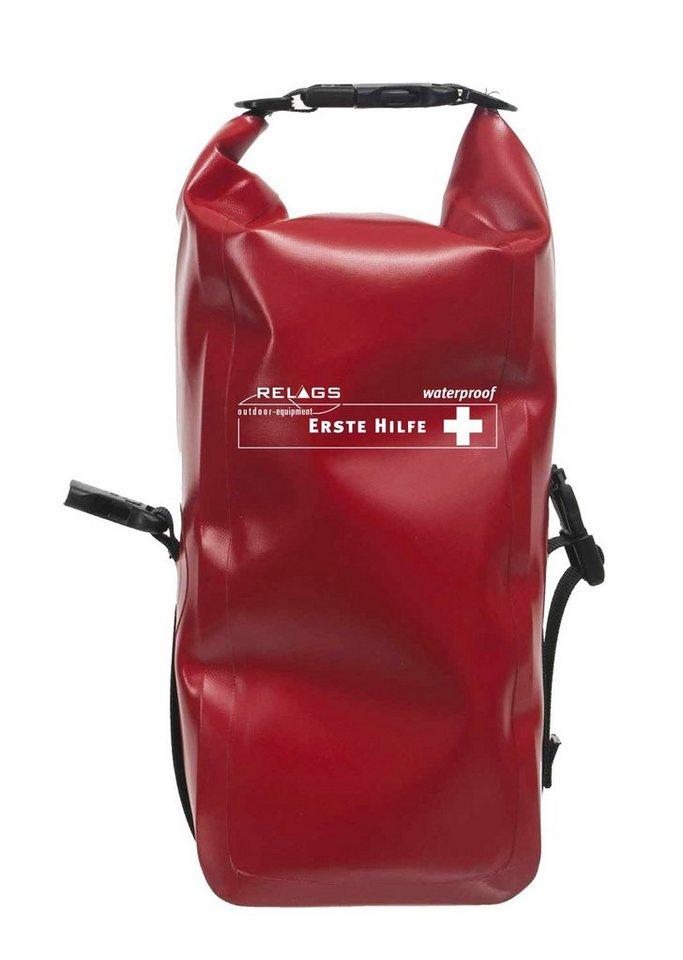 Relags Reiseapotheke »Erste Hilfe Plus Wasserdicht« in rot