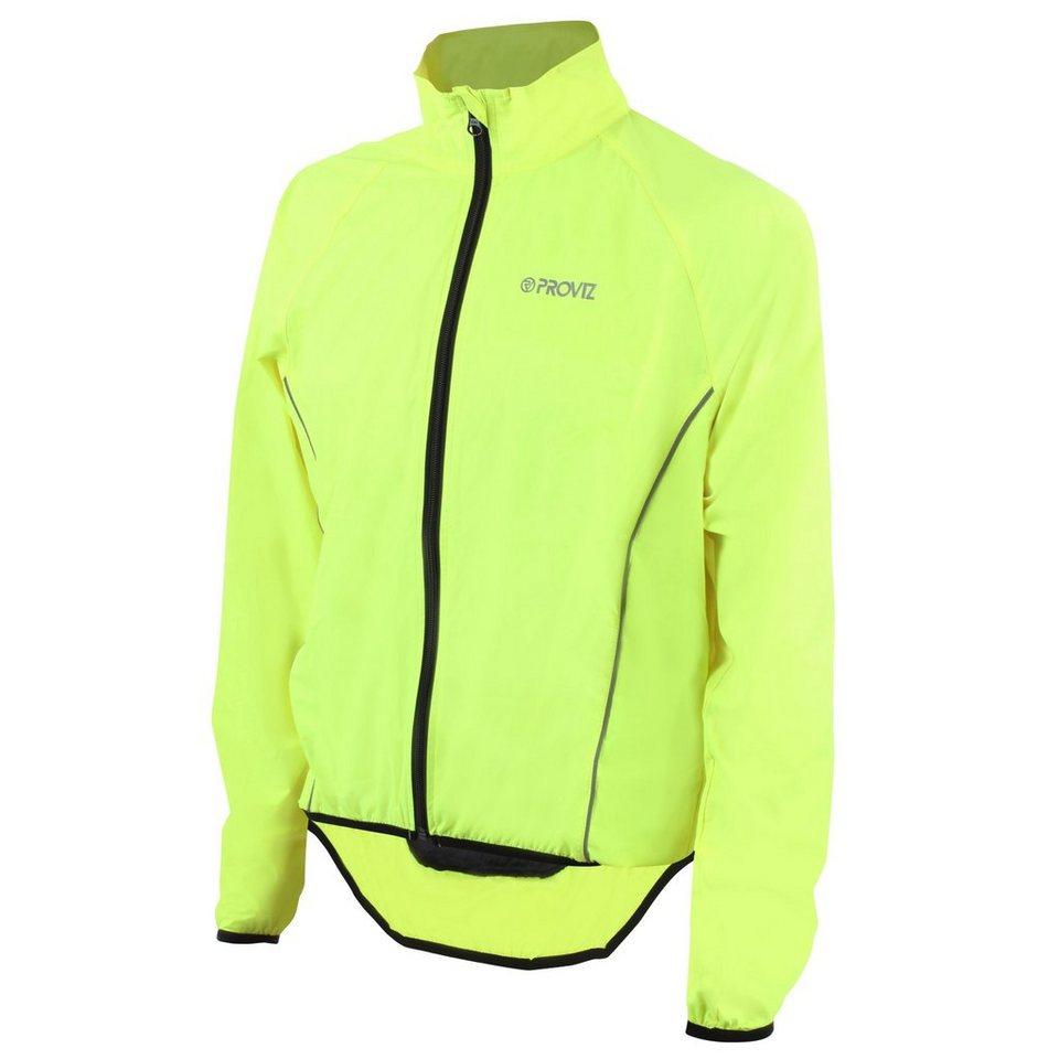 ProViz Outdoorjacke »Windproof Jacke Herren« in gelb