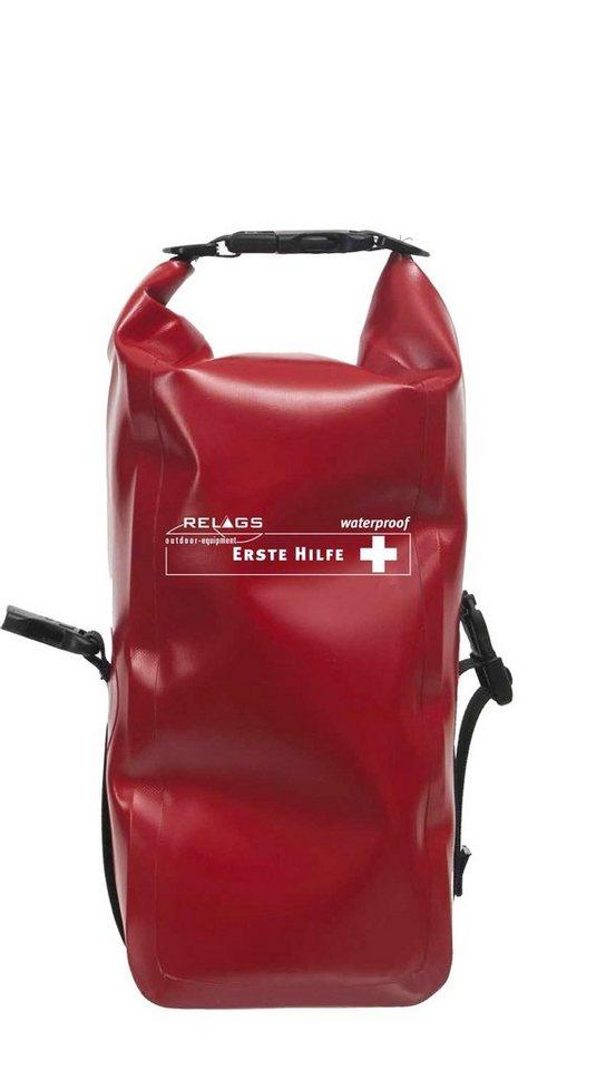 Relags Reiseapotheke »Erste Hilfe Standard Wasserdicht« in rot