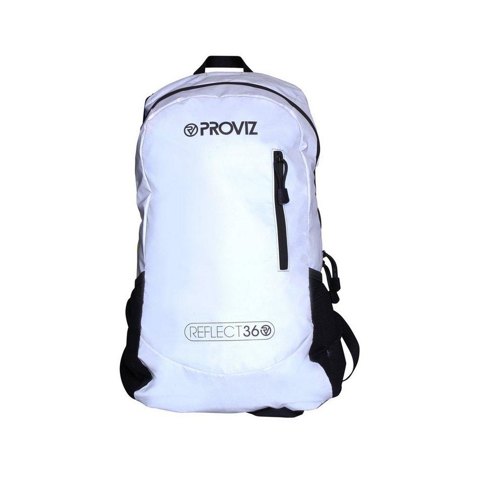 ProViz Sport- und Freizeittasche »Reflect 360 Rucksack 30 L« in weiß