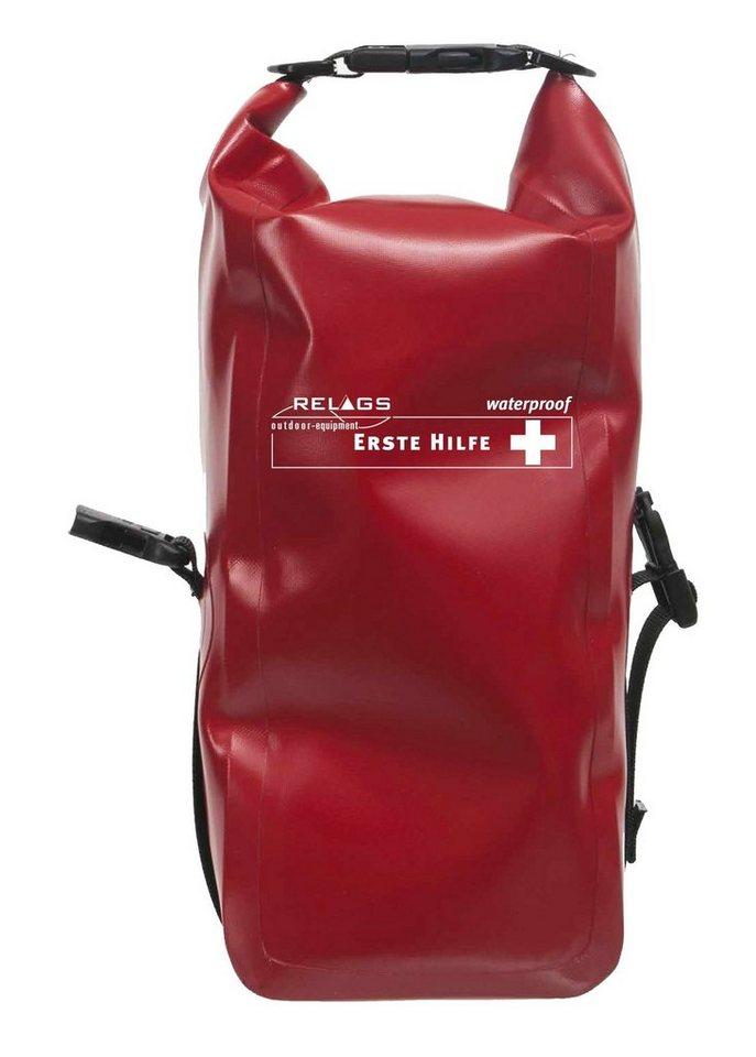 Relags Reiseapotheke »Erste Hilfe Fernreise Wasserdicht« in rot