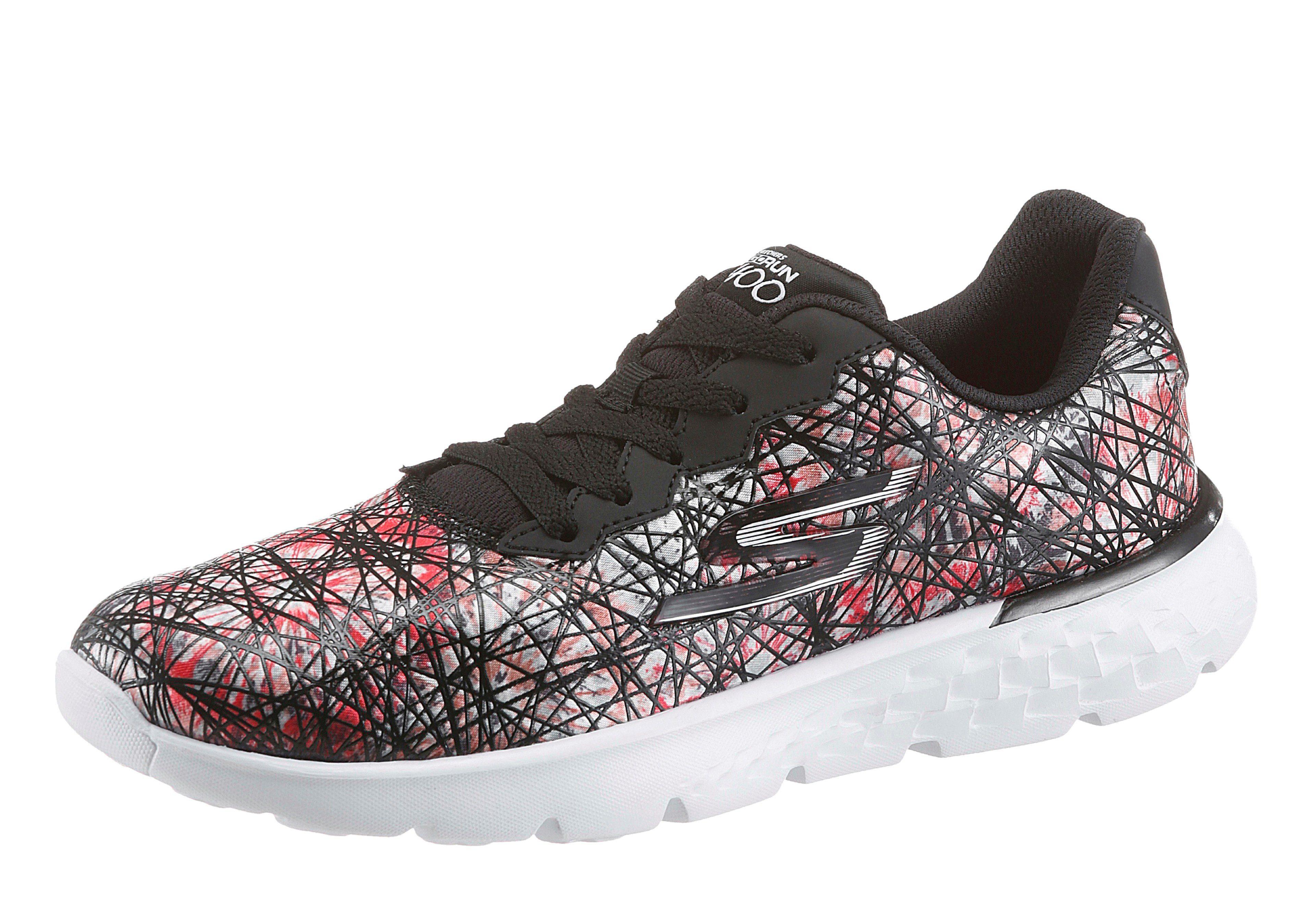 SKECHERS PERFORMANCE Go Run 400-Velocity Sneaker, mit tollem schwarz-multi Muster online kaufen  schwarz-multi tollem 209dbf