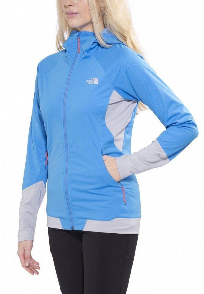 The North Face Softshelljacke »Aterpea Full Zip Hoodie Women« in blau
