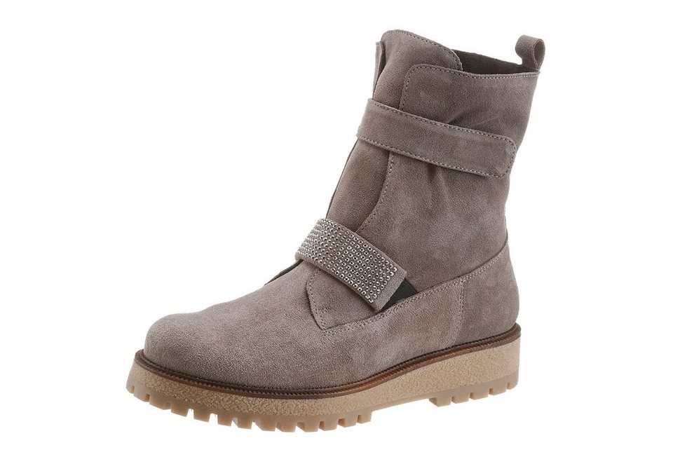 Manas Sommerboots in taupe