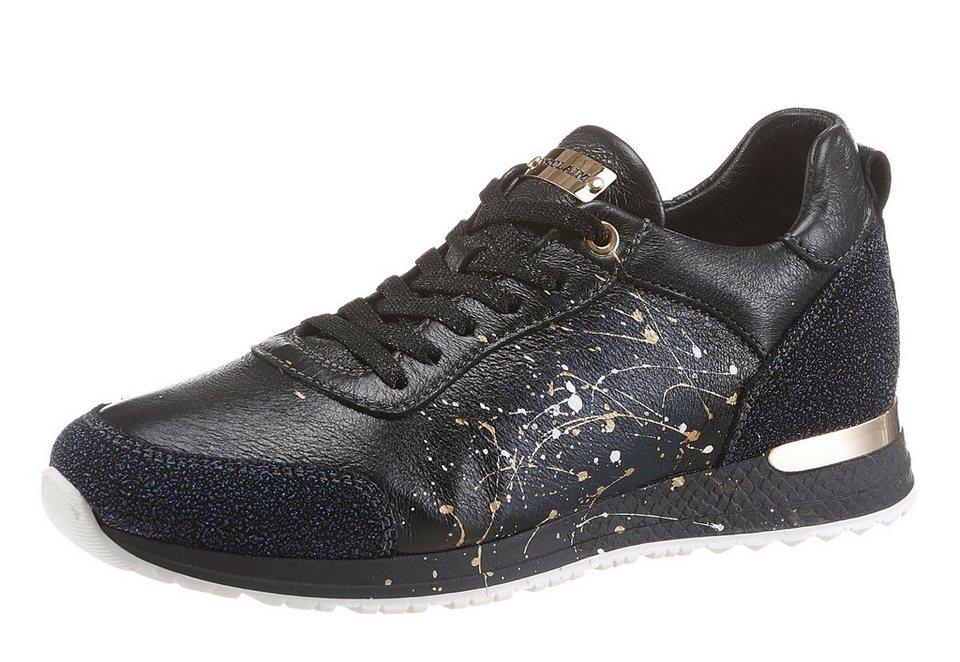 NOCLAIM Sneaker im extravaganten Look in dunkelblau-schwarz-multi