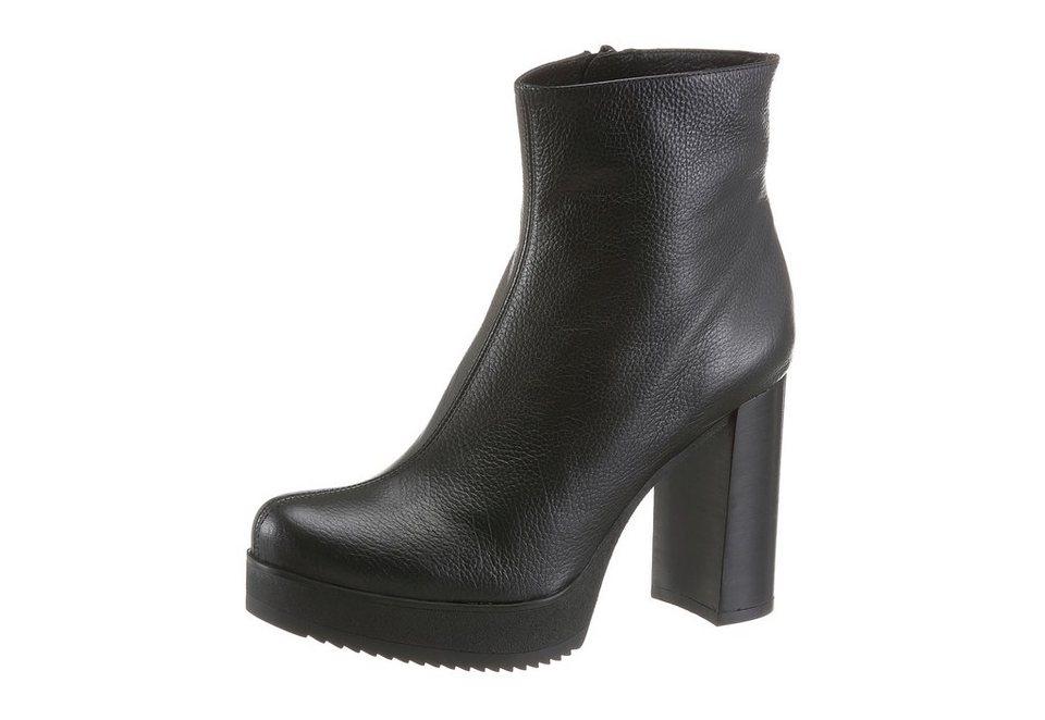 Unisa High-Heel-Stiefelette in schwarz