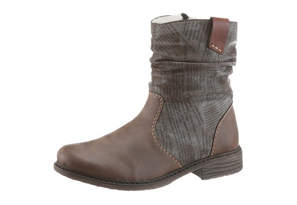 Rieker Winterboots in taupe