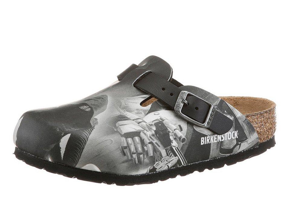 Birkenstock Clog »BOSTON KYLO« in schwarz-grau