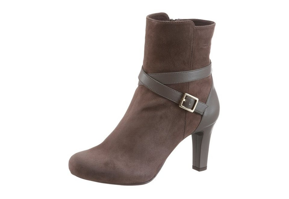Unisa Stiefelette in taupe