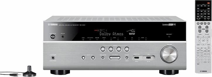 Yamaha rx v681 7 2 av receiver 3d spotify connect for Yamaha amplifier spotify