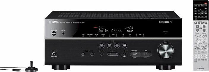 Yamaha RX-V681 7.2 AV-Receiver (3D, Spotify Connect, Airplay, WLAN, Bluetooth) in schwarz