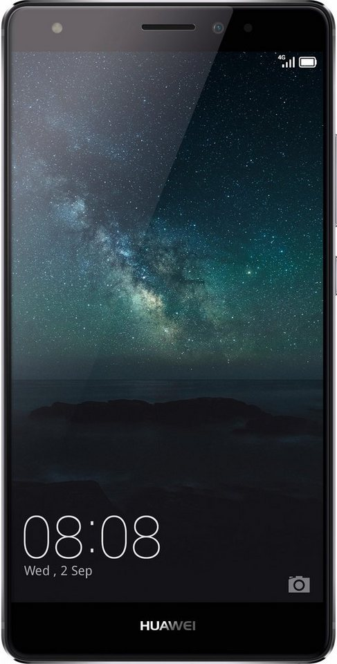 Huawei Mate S Smartphone, 13,9 cm (5,5 Zoll) Display, LTE (4G), Android™ 5.1.1 (mit EMUI 3.1) in grau
