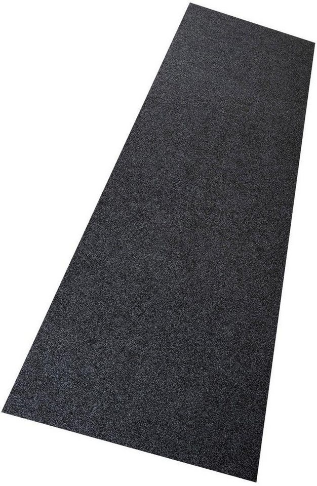 Teppich, Living Line, »Kunstrasen Premium«, In- und Outdoorgeeignet, getuftet, Wunschmaß in anthrazit