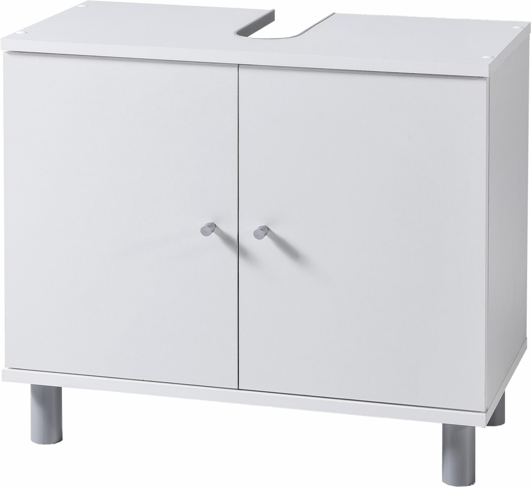 Waschbeckenunterschrank »Simply«   Bad > Badmöbel > Waschbeckenunterschränke   Sonoma - Eiche - Beton - Melamin