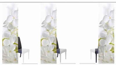 Schiebegardine »PADUA«, HOME WOHNIDEEN, Klettband (6 Stück), HxB: 245x60, inkl. Befestigungszubehör