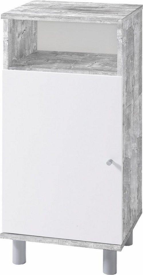 Unterschrank »Simply« in beton/weiß