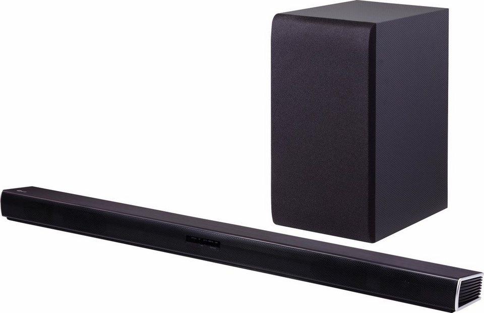 LG DSH5 Soundbar (Hi-Res, Bluetooth) in schwarz
