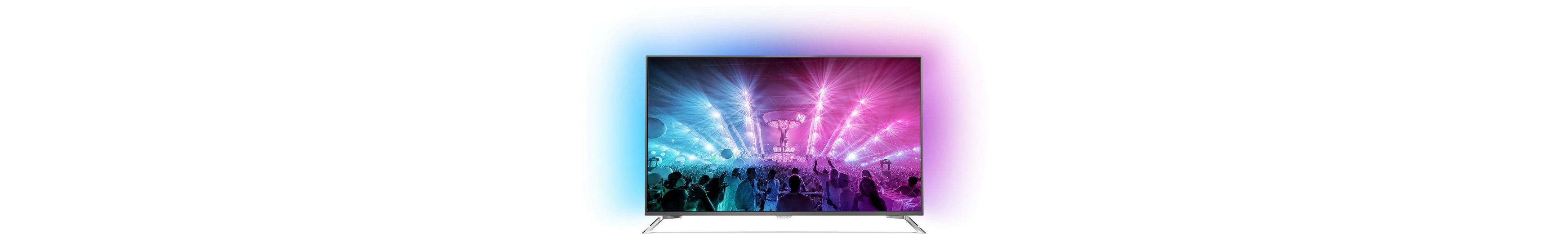 Philips 65PUS7101/12, LED Fernseher, 164 cm (65 Zoll), 2160p (4K Ultra HD) Ambilight, Smart-TV