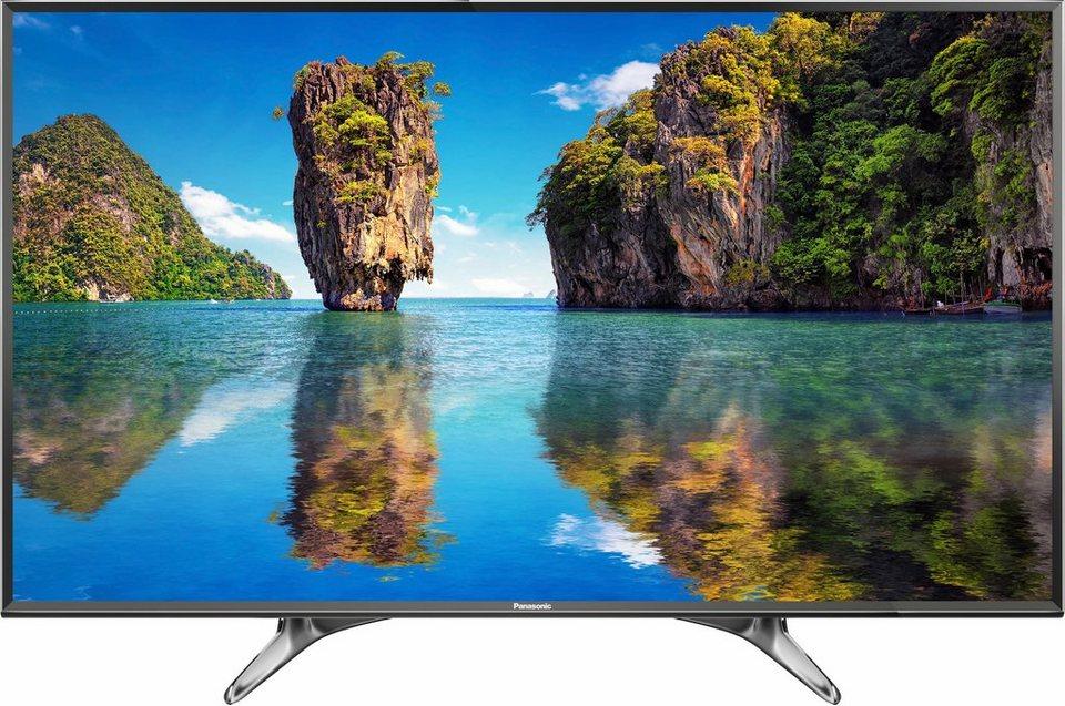 Panasonic TX-49DXW604, LED Fernseher, 123 cm (49 Zoll), 2160p (4K Ultra HD), Smart-TV in schwarz/silberfarben
