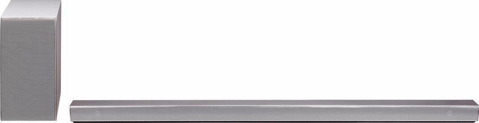 LG DSH9 Soundbar (Hi-Res, Multiroom, Bluetooth, WiFi) in silberfarben