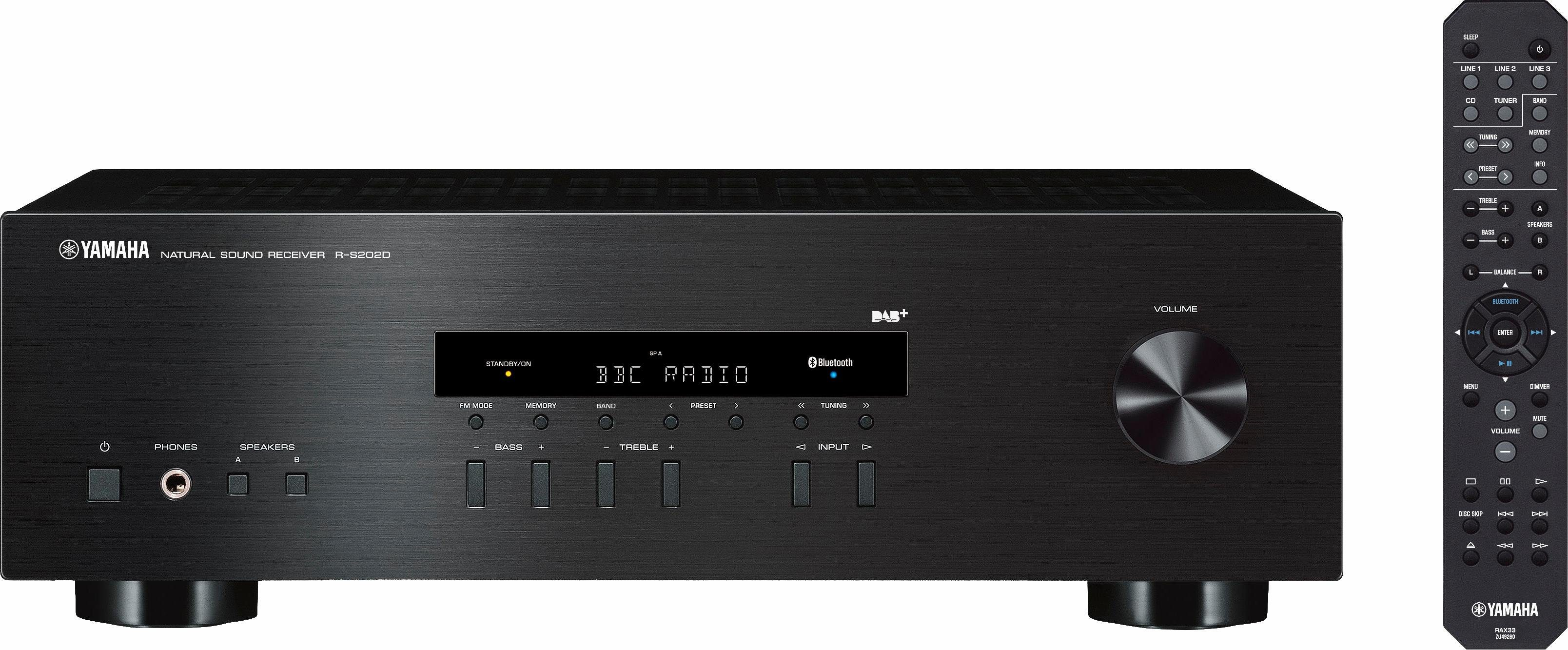 Yamaha R-S202D AV-Receiver mit Bluetooth