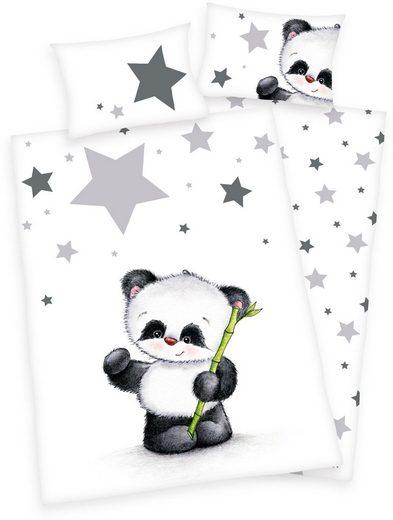 Babybettwäsche »Jana Panda«, Baby Best, mit Panda