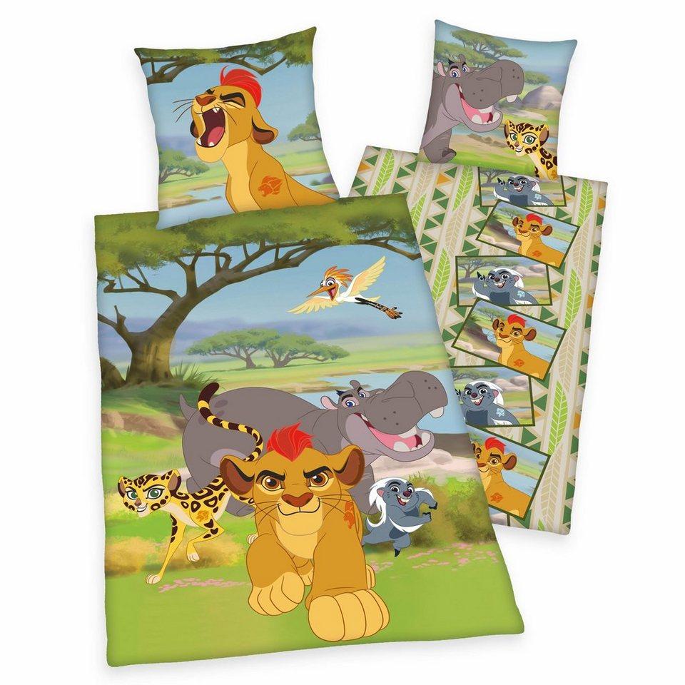 Kinderbettwäsche, Disney, »Die Garde der Löwen« in grün