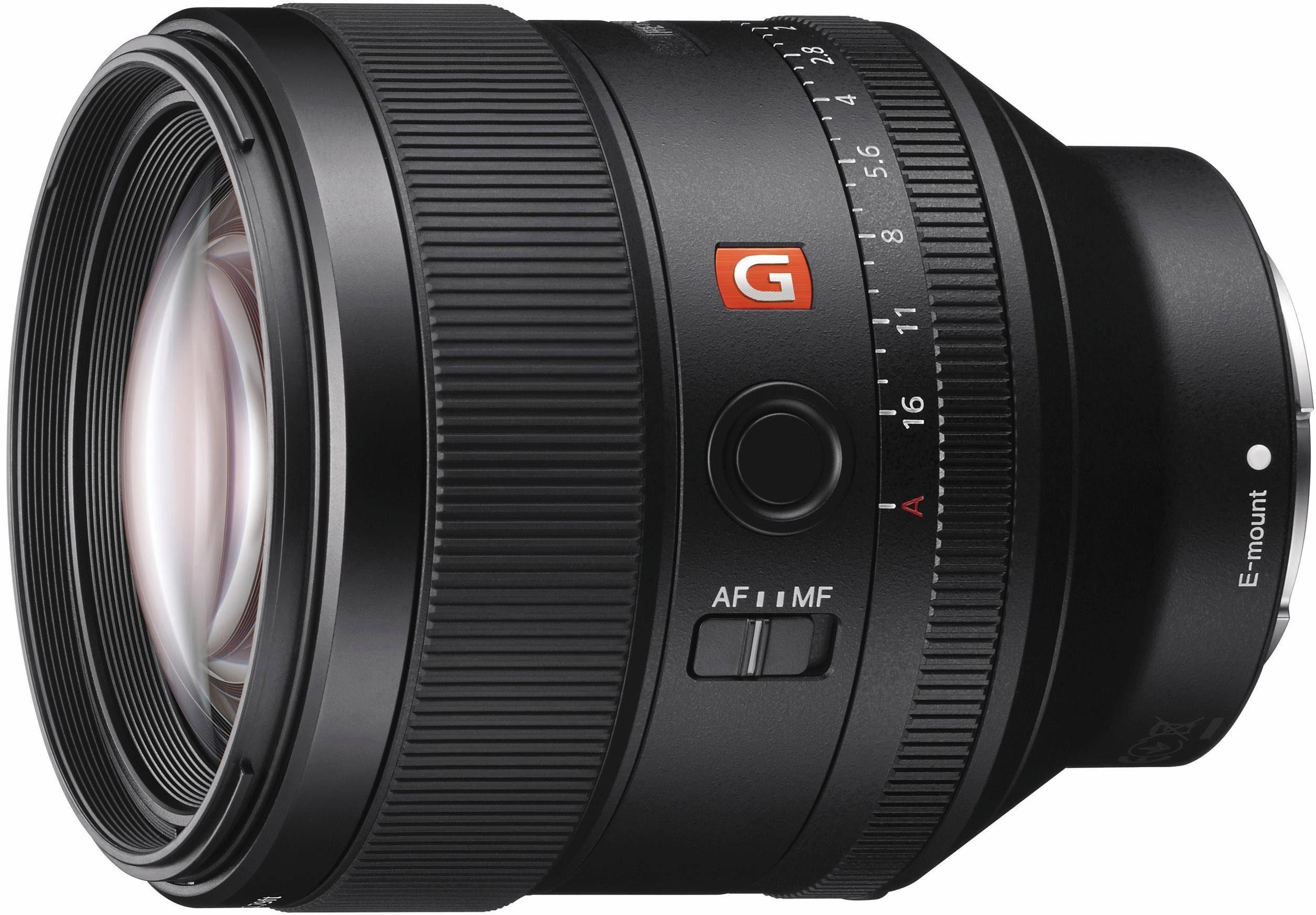 Sony SEL-85F14GM, Vollformat G-Master 85mm Portrait Objektiv, hohe Lichtstärke F1.4, Festbrennweite