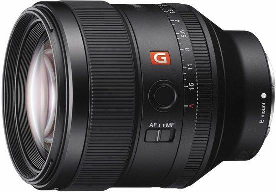 Sony »SEL-85F14GM E-Mount Porträt« Objektiv, (E 24-105mm F4, APS-C)