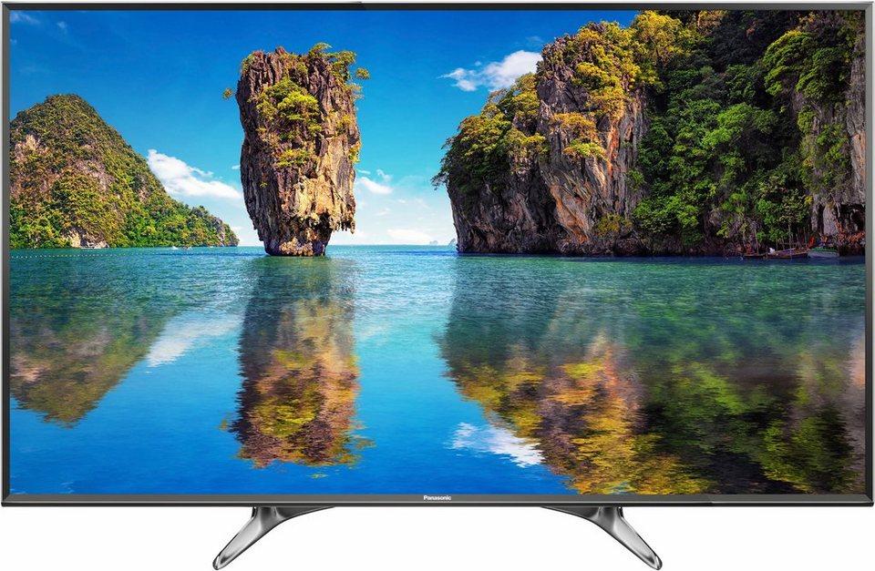 Panasonic TX-55DXW604, LED Fernseher, 139 cm (55 Zoll), 2160p (4K Ultra HD), Smart-TV in schwarz/silberfarben